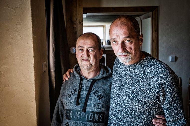 Francis en Marco Gottschalk zaten respectievelijk vijftien en achttien jaar onschuldig in de cel. In 'De onfatsoenlijken' vertellen zij en anderen over hun ervaringen met gerechtelijke dwalingen. Beeld Tim Dirven