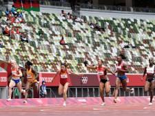 Apeldoornse sprintster Marije van Hunenstijn strandt in series op 100 meter