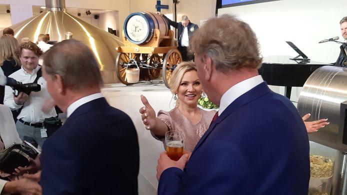 Tatjana Simic is ook aanwezig bij de bijeenkomst in Lieshout. De actrice figureerde in de jaren '90 in reclamespots van Bavaria.