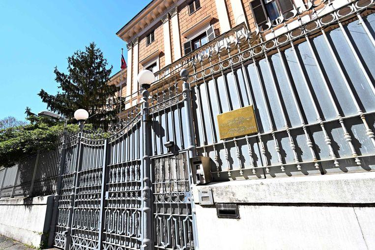 De Russische ambassade in Rome. Beeld AFP