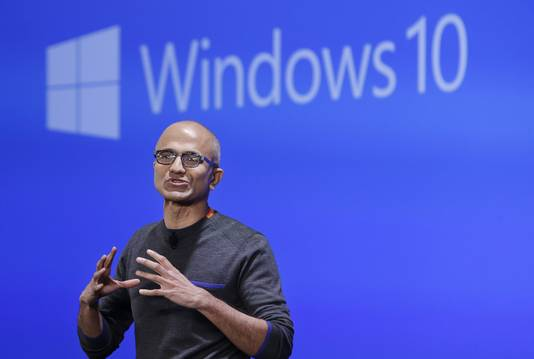 Microsoft-baas Satya Nadella.