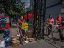 China gooit hele wijken in Peking op slot: 'Situatie is zeer ernstig'