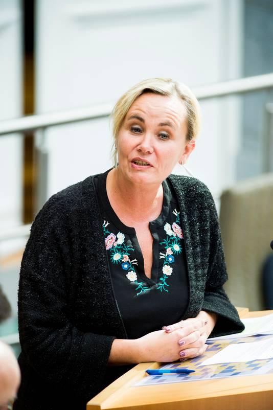 Liesbeth Homans, ministre des Affaires intérieures.