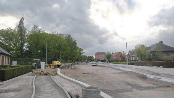 De werken in de Proosdijstraat gaan een laatste fase in.