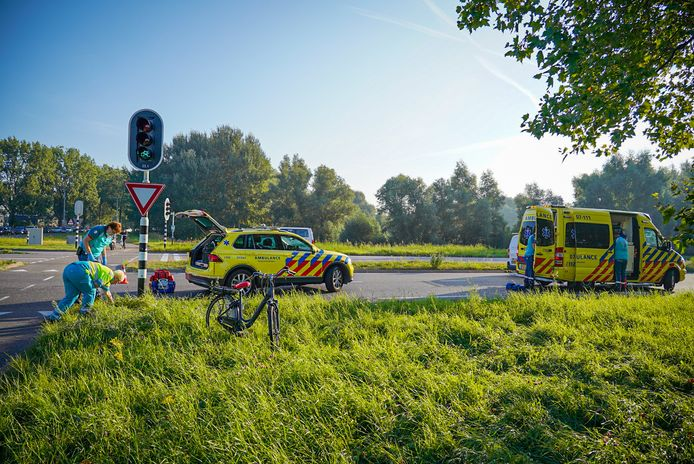 Het ongeluk gebeurde aan de Westervoortsedijk in Arnhem