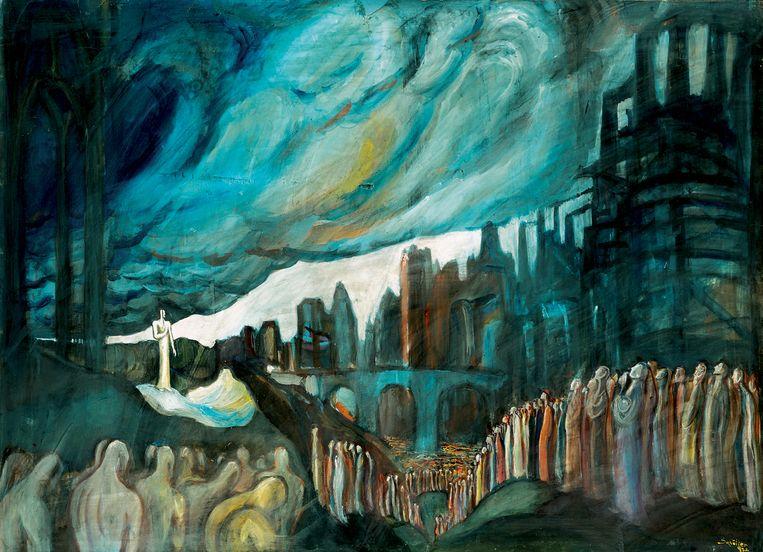 'De profeet' (1932). Beeld Haas Gallery, Budapest. © Adagp, Paris - Éléonore de Lavandeyra-Schöffer, 2018