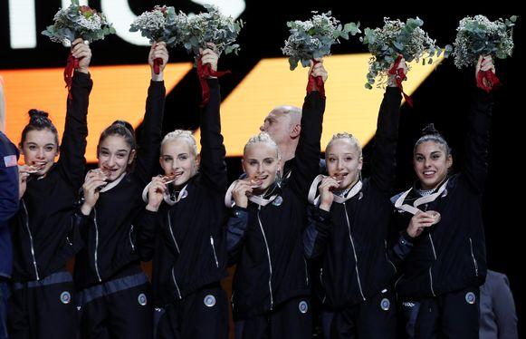 Italië stuntte door China van het brons te houden.