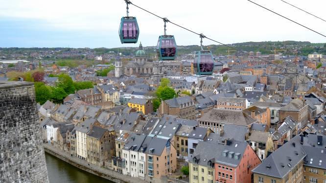 IN BEELD. Namen opent nieuwe kabelbaan naar Citadel