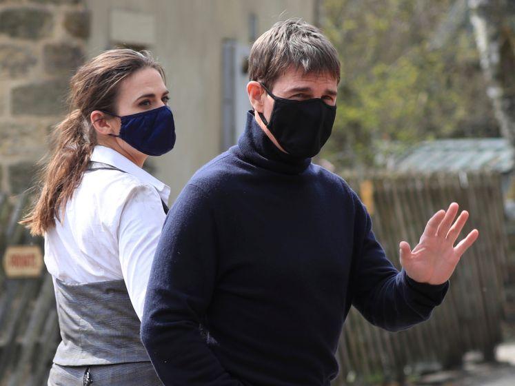 Tom Cruise repéré sur le tournage de Mission Impossible 7 dans une petite ville d'Angleterre