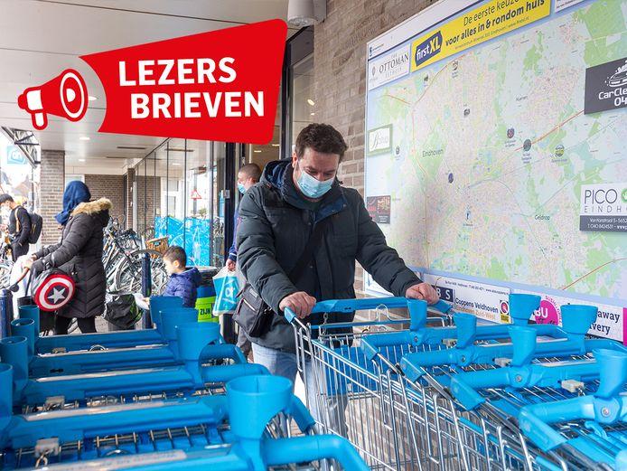 Winkelwagentjesbeleid van supermarkten, in sommige supermarkten moeten mensen namelijk weer muntjes invoeren om een wagentje te pakken