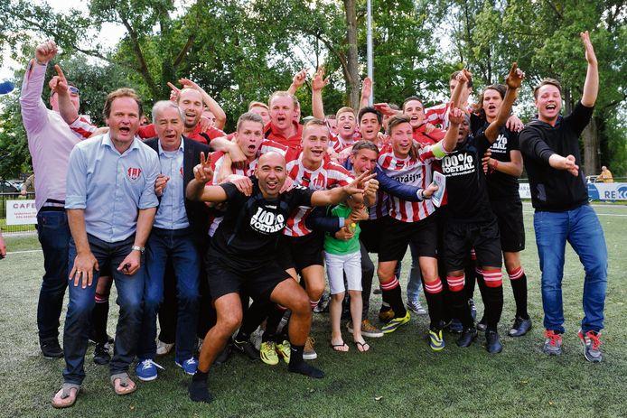 Rigtersbleek promoveerde in 2015 naar de hoofdklasse na een serie van 30 (!) penalty's.