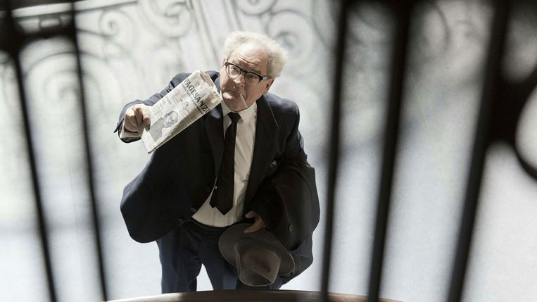 Burghart Klaussner in 'Der Staat gegen Fritz Bauer'. Beeld