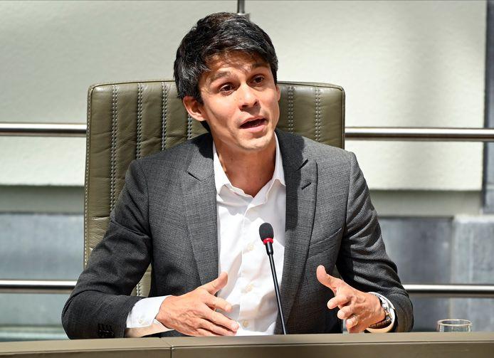 Benjamin Dalle, Vlaams minister van Brussel, Jeugd en Media (CD&V)