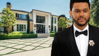 BINNENKIJKEN. The Weeknd verkoopt gigantische villa voor 22,3 miljoen euro