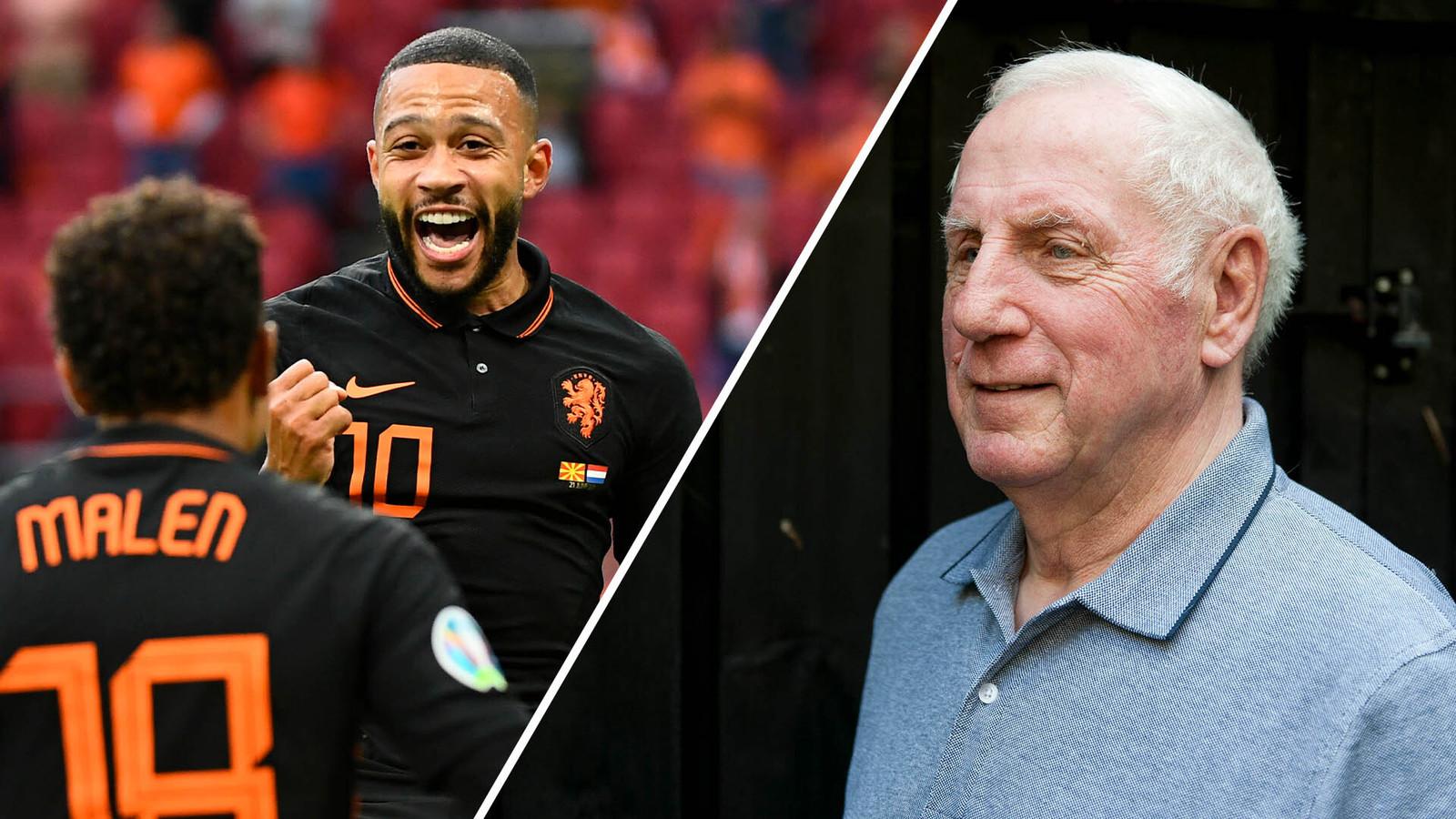 Oranje kan Dick Schneider wel bekoren.
