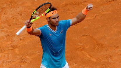 Rome krijgt absolute droomfinale tussen Nadal en Djokovic