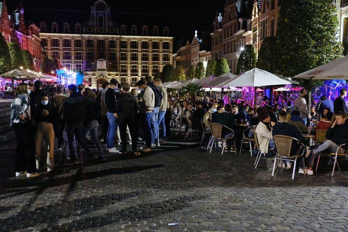 De beklaagde heeft nu een zaak op de Oude Markt in Leuven (archiefbeeld).