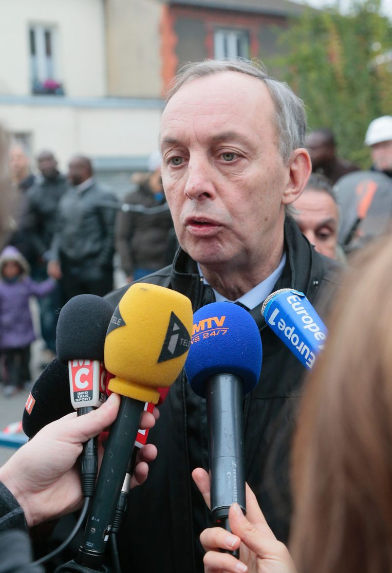 De communist Pascal Beaudet werd in 2014 burgemeester van Aubervilliers. 'Degenen die hem tot koning hadden gekroond bleven hem maar om gunsten vragen: een woning, een baan, een vergunning.' Beeld AFP