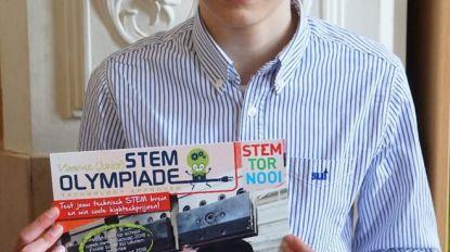 Firas tweede tijdens STEM Olympiade