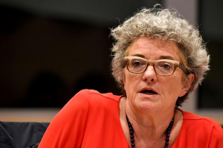 Kamerlid Monica De Coninck (Sp.a) Beeld BELGA