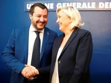 """Salvini et Le Pen s'en prennent au """"bunker de Bruxelles"""""""