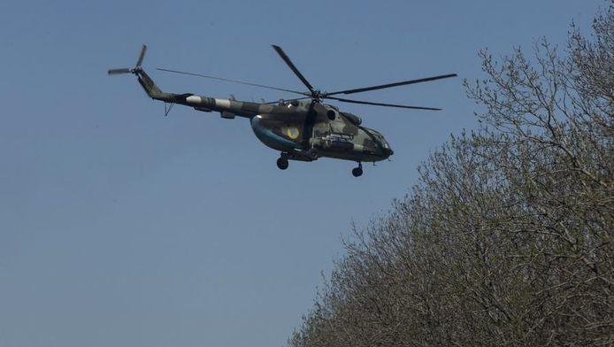 Hélicoptère de l'armée ukrainienne (illustration)