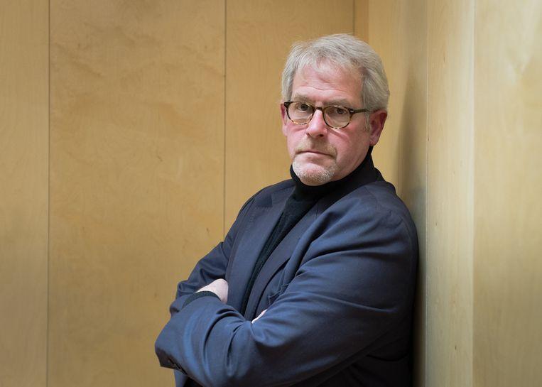 Tim Tate, de Brtise journalist die het verhaal van Ingrid von Oelhafen optekende. Beeld Andy Boag