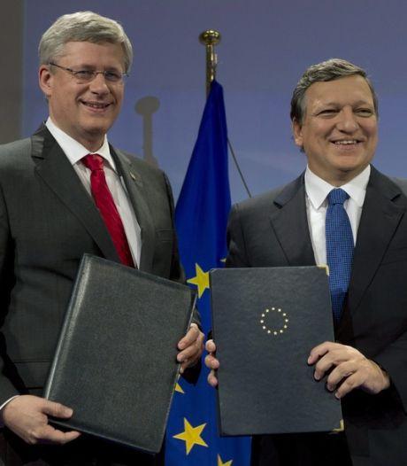 L'UE et le Canada scellent leur accord de libre-échange