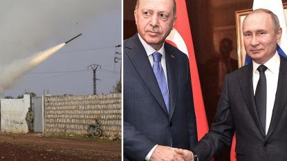 Rusland en Turkije eens over staakt-het-vuren in Syrische provincie Idlib
