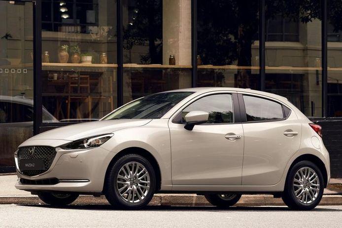 De Mazda 2.