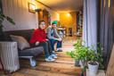 Peter Paul en Rosa in hun tiny house