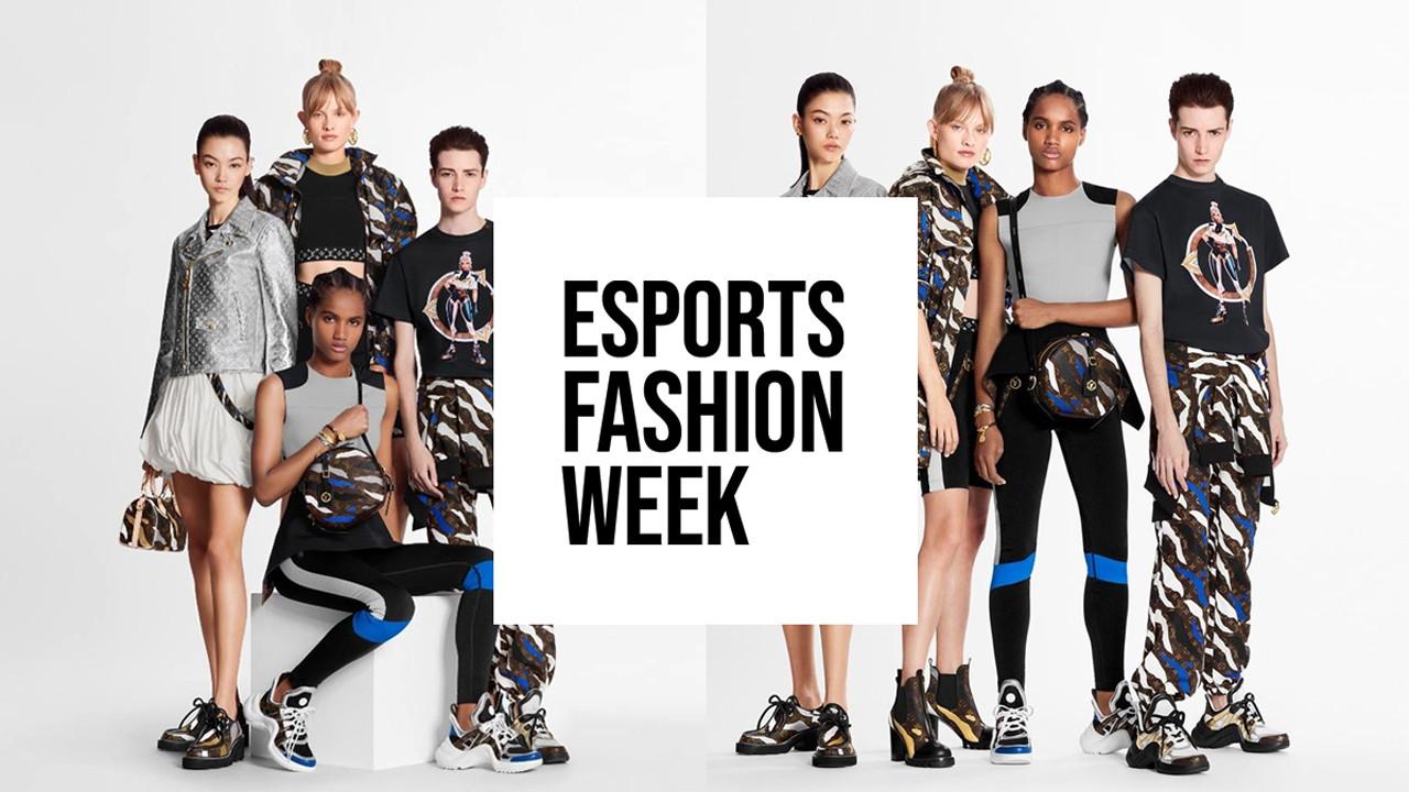 Op 24 juli wordt de eerste modeshow gegeven in het kader van de Esports Fashion Week.