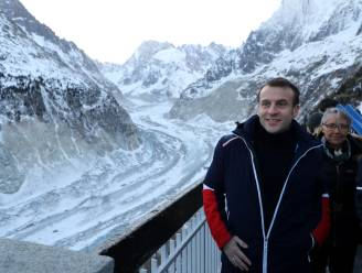 Neen, Macron gaat de Mont Blanc niet redden