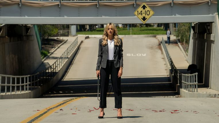 Carey Mulligan als Cassey in Promising Young Woman. Beeld