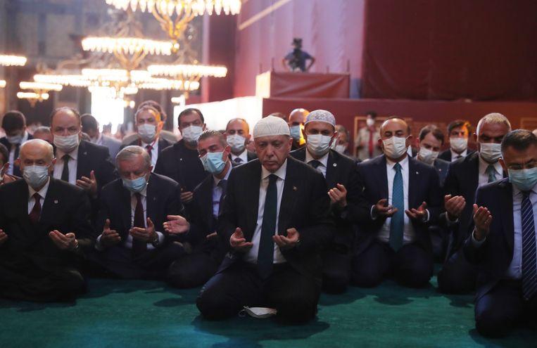 Turkije voelt zich – met Erdogan aan het roer – alleen staan tegenover een buitenlandse samenzwering Beeld Getty Images