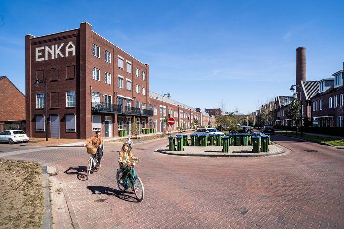Wonen op het Enka-terrein is iets anders dan wonen in Ede, zeggen veel van de nieuwkomers uit de Randstad.
