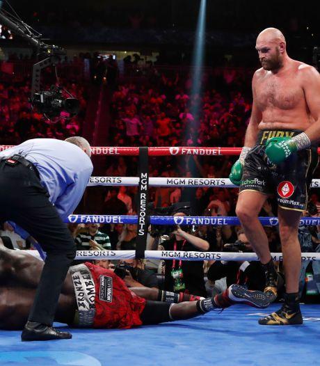 Wilder KO, Fury conserve son titre WBC au terme d'un des plus grands combats de l'histoire