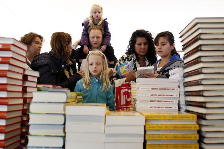 Kinderboeken spelen van jongs af aan een grote rol bij het vormen van een (positief) zelfbeeld en een beeld van de buitenwereld.  Beeld ANP