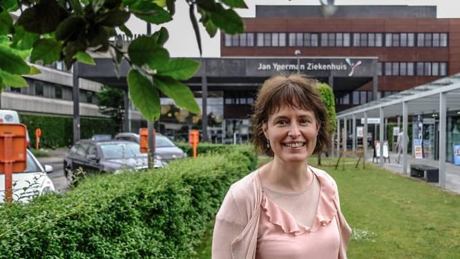 """Jan Yperman Ziekenhuis kan extra mensen aanwerven dankzij zorgpersoneelfonds: """"Gelukkig haakte niemand af door de pandemie"""""""