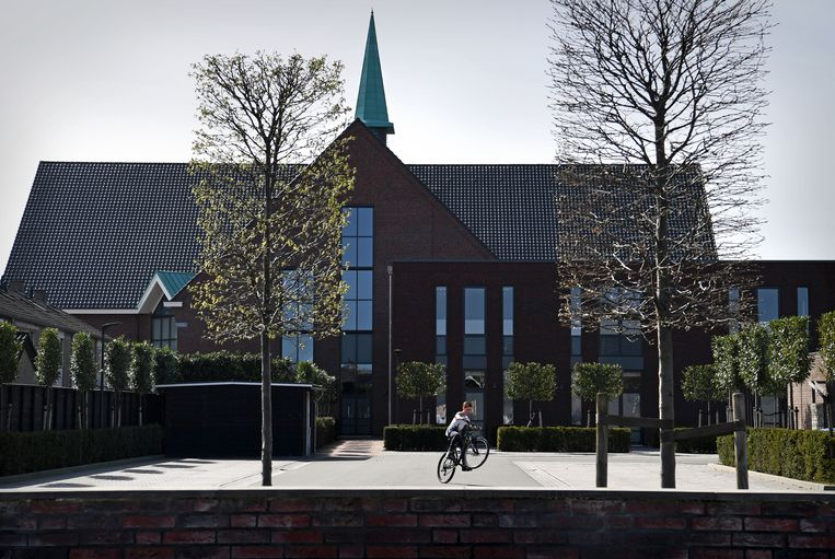 Kerk Gereformeerde Gemeente Opheusden. Beeld Marcel van den Bergh / de Volkskrant