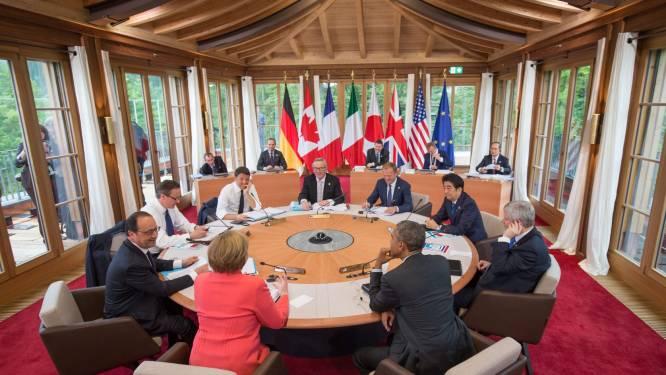 Klimaat en terrorisme beheersen agenda G7-top