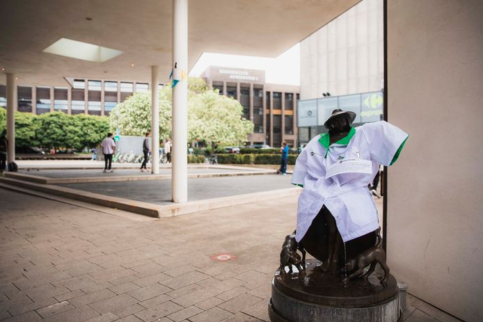 Hasselt viert Dag van de Verpleging, en staat stil bij alle zorgverleners die zo hard moesten en moeten werken.