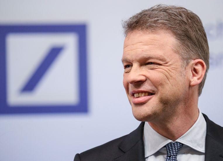 Christian Sewing, ceo van de Deutsche Bank  Beeld EPA