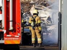 Voor de tweede keer in korte tijd brand bij Van Tuyl Metaalrecycling Oss