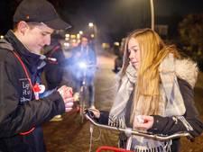 Gratis fietslampjes in Staphorst