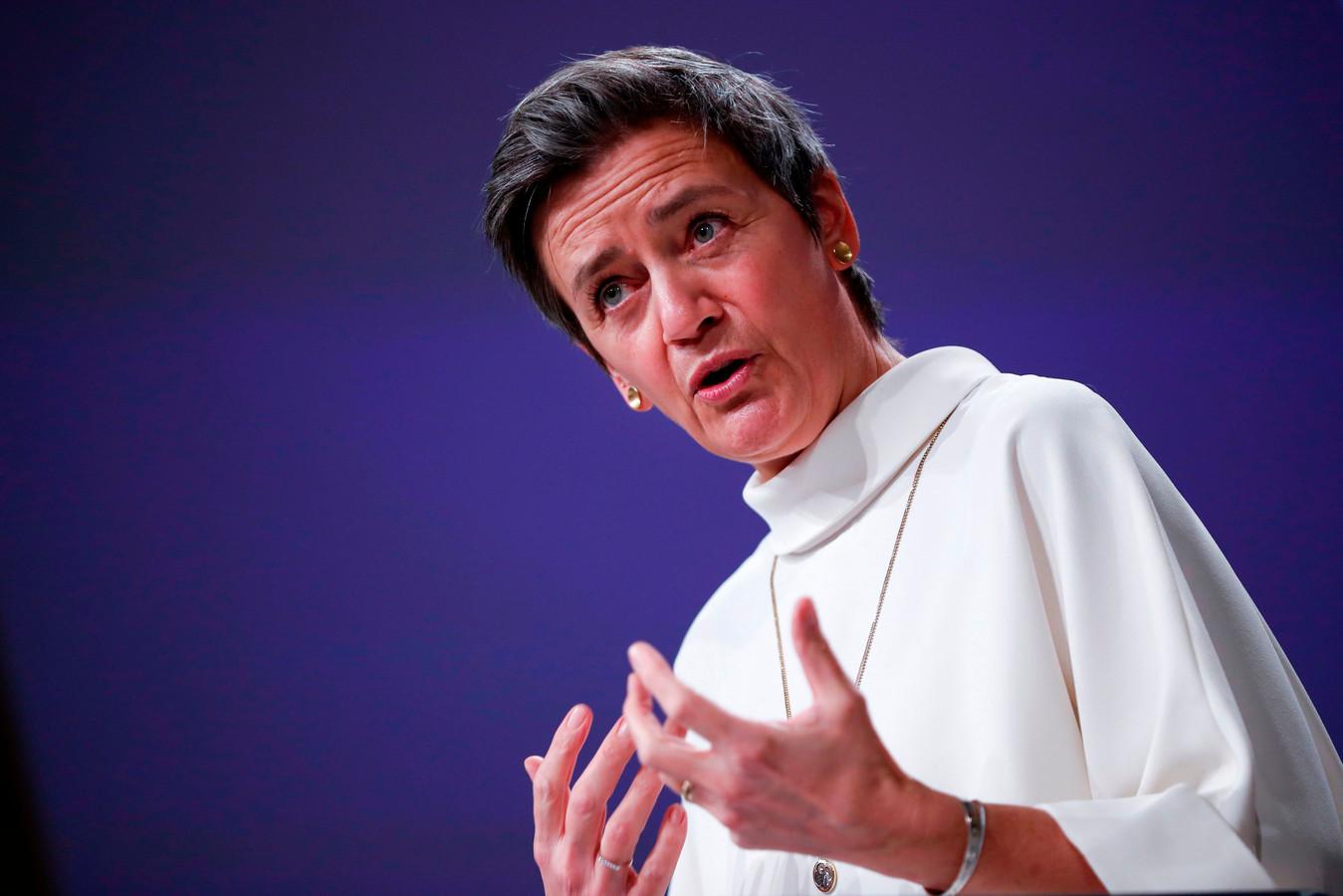 Eurocommissaris van Mededinging Margrethe Vestager.