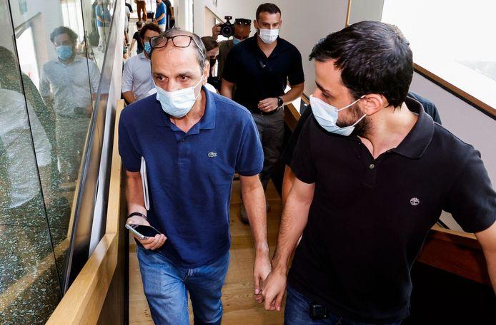 Het 6-jarige Italiaans-Israëlische jongetje werd anderhalve week geleden door zijn opa ontvoerd.