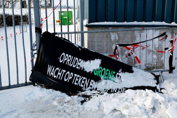 De teststraat aan de Edisonweg in Gorinchem is dicht.