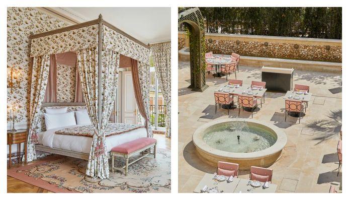 Foto's zijn eigendom van hotel Airelles Château de Versailles, Le Grand Contrôle