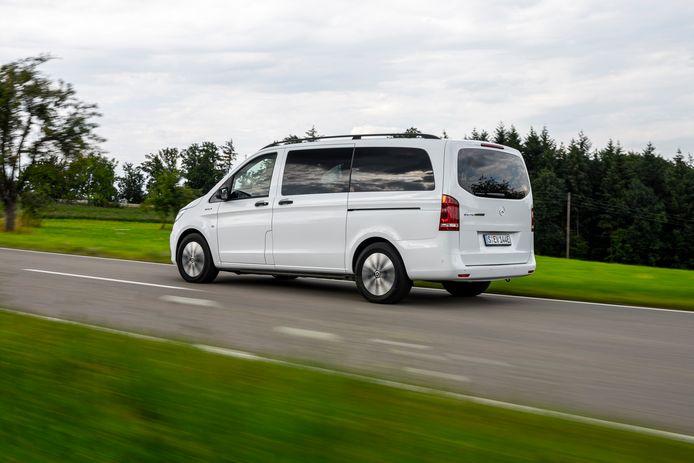 De vernieuwde Mercedes-Benz eVito Tourer